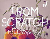 FROM SCRATCH - Free Typeface