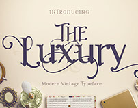 The Luxury Typeface