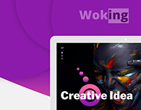 Woking Landing Page Design