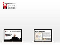 Massimo Vignelli Exhibit