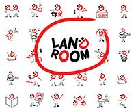 LandRoom - Visual Identity