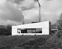 House in lightweight concrete, Belgium