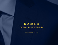 Kamla Textile Logo Branding
