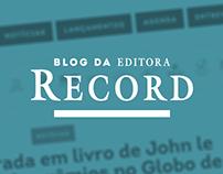 Blog da Editora Record