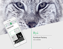 Ryś Furniture Factory - website