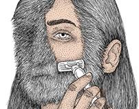 I shave my beard