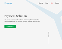 Payment Solution Website