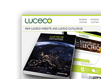 Luceco new website and catalogue launch mailing