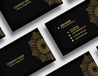 Luxury & Elegant Business Card