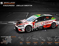 Seat Leon EuroCup - Facundo Della Motta