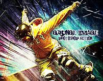 Grunge Image Photoshop Action