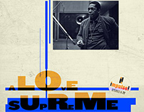 JOHN COLTRANE COVER · A LOVE SUPREME