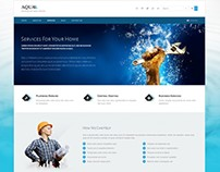 Aqua WordPress Theme for Plumbers