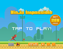 Ninja Impossible. Mobile Game