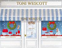 Toni Wescott // Website Illustrations