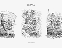 Rome Drawing