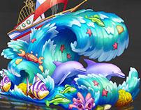 Theme park concept design