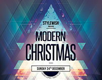 Modern Christmas Flyer