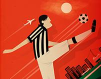 Juventus Stamp