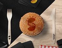 """Sekacka"" burger bistro branding"