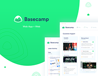 Basecamp Redesign - Product + UI/UX