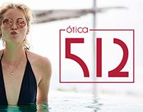 Ótica 512 - Branding