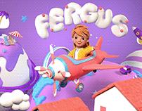 Fergus Character Design