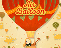 Air Balloon Music Single Cover