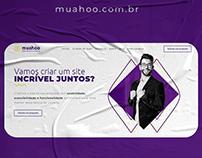 Web Design site institucional Muahoo UI/UX - Wordpress