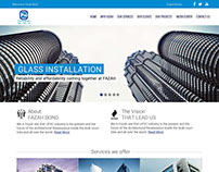 User Interface design for Construction services website