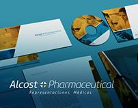 Alcost Pharmaceutical - Branding