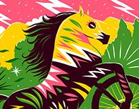 """""""Horsebiking"""" Boneshaker Magazine"""
