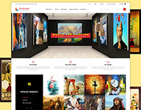 Painter - Antic Art Gallery Template