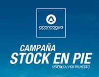 Campaña Stock en pie
