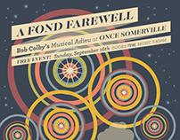 A Fond Farewell: Poster Design