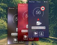 Road Pal iOS/Android App UI Design