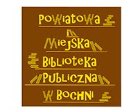 Project Logotyp for Bochnia Library  v.2