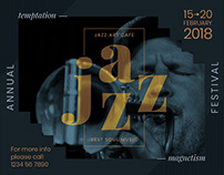 Jazz Festival | Modern and Creative Templates Suite