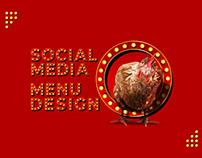chicken Chester Menu & Social Media