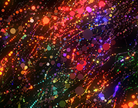 Magic Particles VJ loops pack
