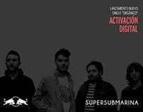 """Presentación Red Bull """"Orgánico Supersubmarina"""""""