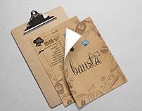 Bausta 17 Menü Tasarımı