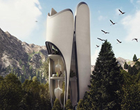 The Valvate: a unique concept of a forest getaway