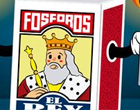 Fósforos El Rey - Cajita