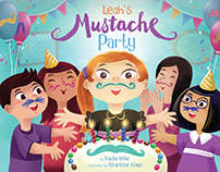 Leah's Mustache Party