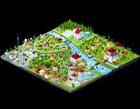 isometric map project
