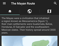 The Mayan Route v1 - Android, 2016
