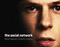 The Social Network Alternative Credits Scene
