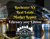 Rochester NY Real Estate Market Report Feb. '17 Edition