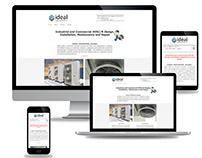 Ideal HVAC Toronto Web Design